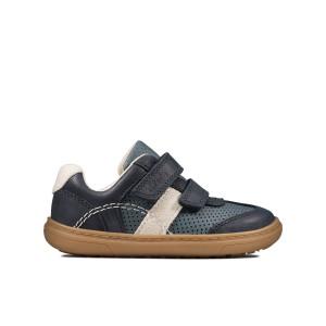 Clarks Flash Metra Toddler Shoes - Navy