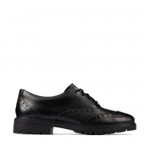 Clarks Loxham Brogue Youth Shoes