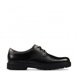 Clarks Loxham Derby Youth Shoes