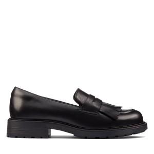 Clarks Orinoco 2 Loafer - Black Hi Shine Leather