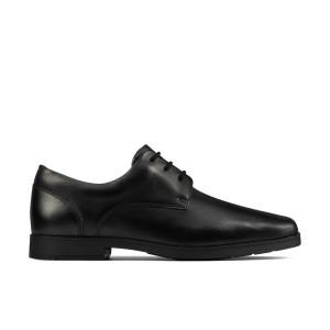 Clarks Scala Edge Youth School Shoes - Black