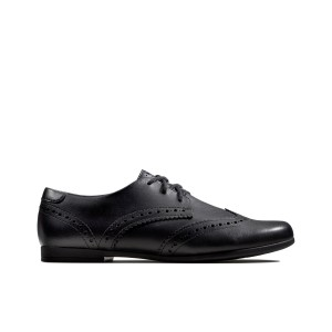 Clarks Scala Lace Kid Shoes