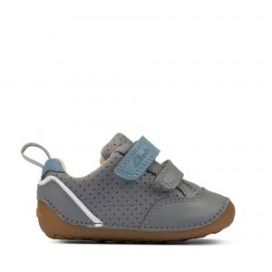Clarks Tiny Sky Toddler Shoes - Grey