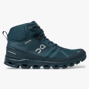 On Running Cloudrock Waterproof 23.99754 Boots - Navy / Midnight