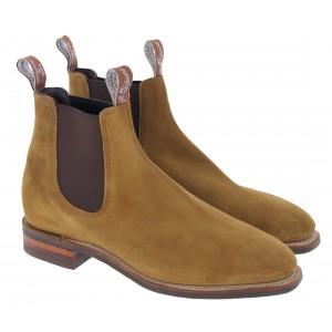 R. M. Williams Comfort Craftsman Boots - Tobacco Suede