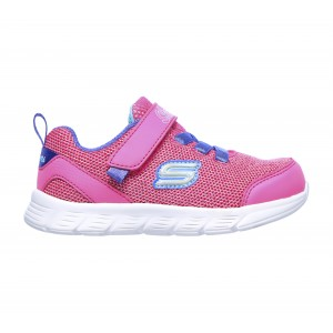 Skechers Comfy Flex Moving On 302107N Trainers - Hot Pink/Purple