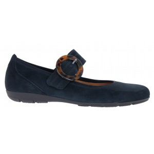 Gabor Consent 54.168 Shoes - Pacific Blue