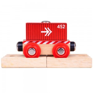 Bigjigs Container Wagon BJT485