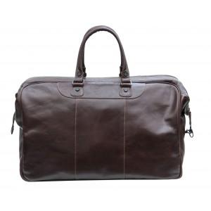 Prime Hide Cruz Vt Gladstone 569 Luggage Bag- Brown Leather