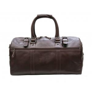 Prime Hide Cruz Vt Holdall 568 Luggage Bag- Brown Leather