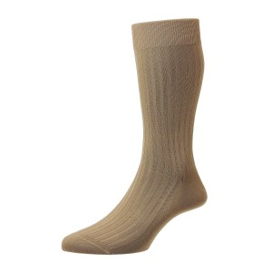 Pantherella Danvers Socks - LIght Khaki