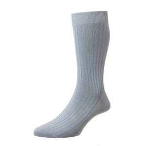 Pantherella Danvers Socks - Sky Blue