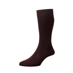Pantherella Danvers Socks - Burgundy