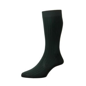 Pantherella Danvers Socks - Dark Green