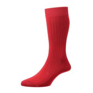 Pantherella Danvers Socks - Scarlet