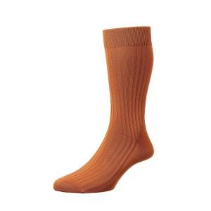 Pantherella Danvers Socks - Tan Cumin