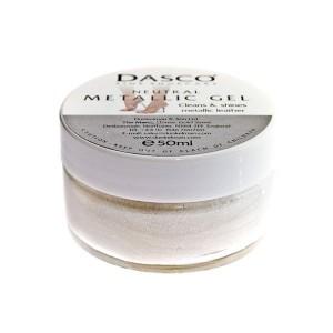 Dasco Cream Jar  Metallic