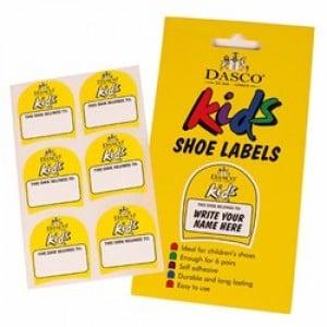 Dasco Kids Shoe Labels