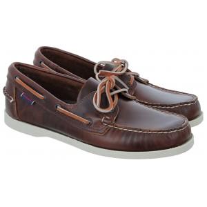 Sebago Docksides FGL Oiled Wax 70000G0 Shoes - Brown