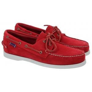 Sebago Docksides Portland Suede 7000G90 Shoes - Red