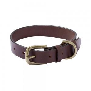 Le Chameau Dog Collar - Marron Fonce