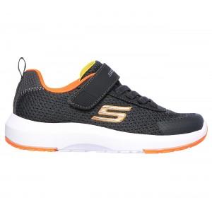 Skechers Dynamic Tread 98151L Trainers - Charcoal/Orange