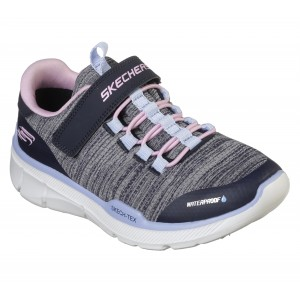 Skechers Equalizer 3.0 MBR 996463l Trainers - Navy/Pink