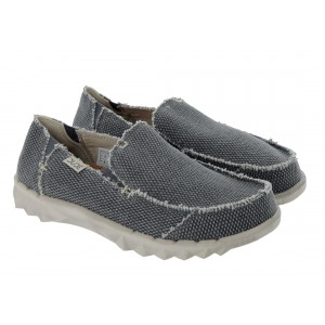 Hey Dude Farty Natural D10744900 Shoes - Black