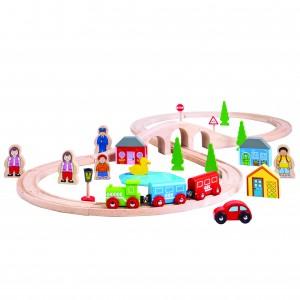 Bigjigs Figure Of Eight Train Set  BJT012