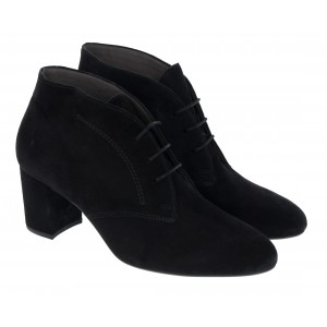 Gabor Vane 75.610 Boots - Black Suede
