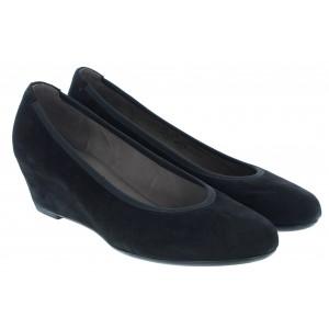 Gabor Fantasy 95.360 Shoes - Black Suede