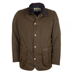 Barbour Gilpin Wax MWX1710 Jacket- Olive Textile