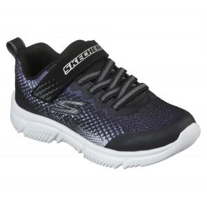 Skechers Go Run 650 405035L Trainers - Black/Silver
