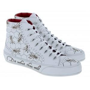 Jeffery West Hacienda Boots - White