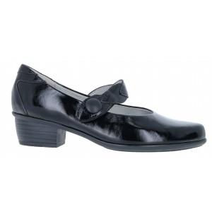 Waldlaufer Haifi 967301 Shoes-Black Patent