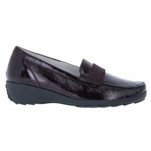 Waldaufer Hanin 348501 Shoes-Burgundy
