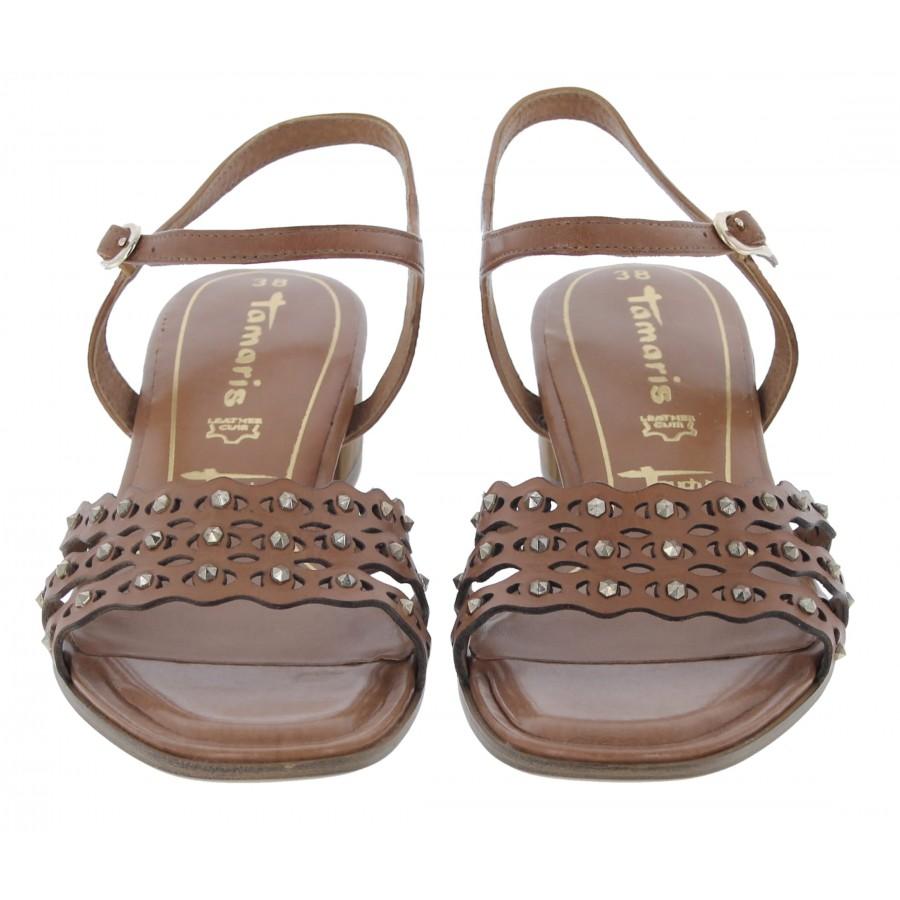 Hanni 28223 Sandals - Cognac