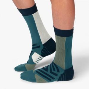 On Running High Socks - Storm Moss
