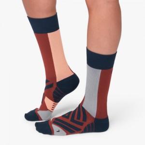 On Running High Socks - Ox Navy