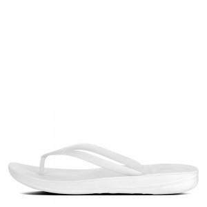 Fitflop Iqushion Ergonomic Flip Flops - Urban White