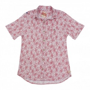 Hey Dude Isle E1210191211 Short Sleeve Shirt - Shell Pink