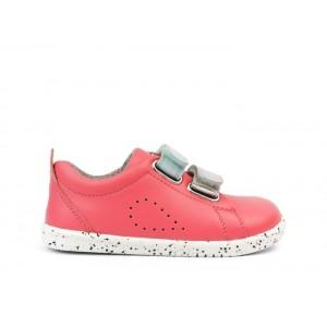 Bobux I-Walk Grass Court Switch Shoes - Guava