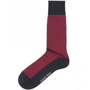 Jeffery West Socks - Houndstooth