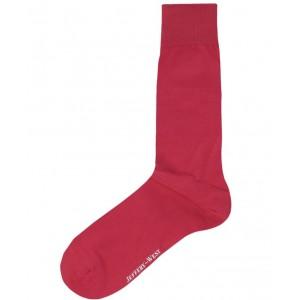 Jeffery West Socks - Plain Red
