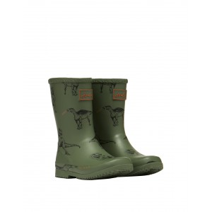 Joules Junior Roll Up 212700 Wellies - Dinos