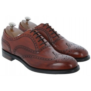 Cheaney Arthur III D Shoes - Dark Leaf