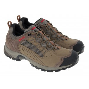 Meindl Journey Pro Goretex 5219 Walking Shoes - Shilf/Rot