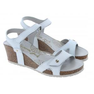 Panama Jack Julia Nacar Sandals - White