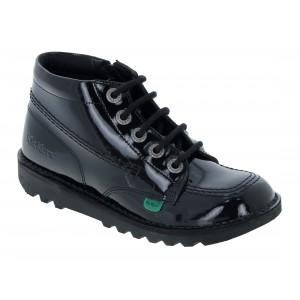 Kickers Kick Hi Zip Junior 115826 School Shoes