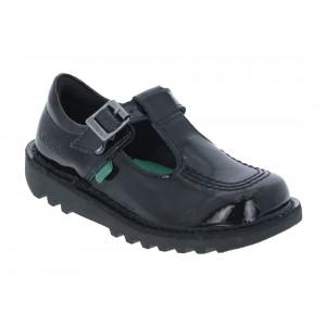 Kickers Kick T Infant Shoes - Black Patent